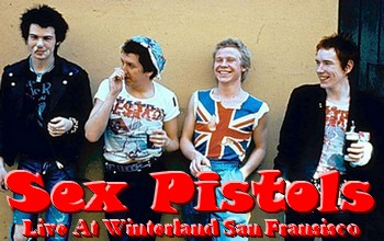 Sex Pistols - 1978 - Live At Winterland San Fransisco