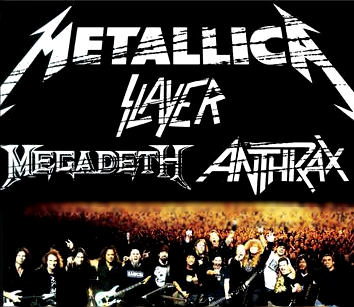 The Big 4: Anthrax / Megadeth / Slayer / Metallica