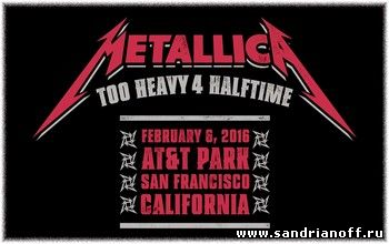 Metallica - The Night Before - Live in San Francisco, CA,  February 5,6, 2016